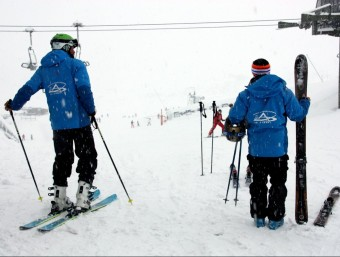 Skiers. Changing demographics suggests young people are not taking up skiing in the same numbers as before.