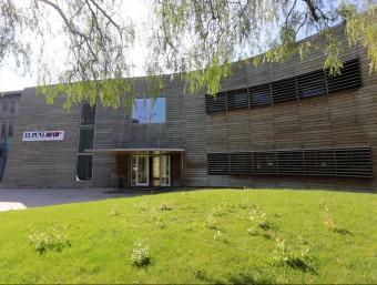Headquarters of El Punt Avui Televisió in Sant Just Desvern.  Photo:Arxiva