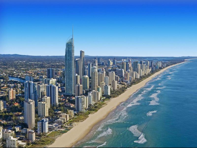 Gold-Coast, Surfers Paradise.  Foto:MARK BURGIN