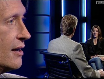 Dave Holmes with Nicole Millar on EL PUNT AVUI TV/  Foto:ARCHIVE