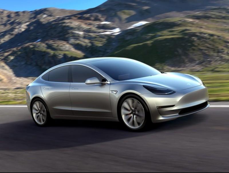 Tesla's Model 3  Foto:EFE