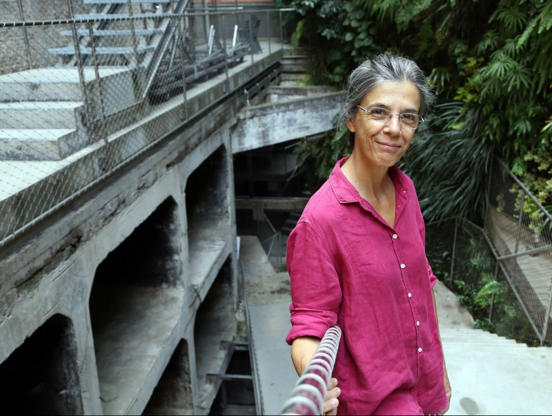 Anna Casassas is the latest winner of the Trajectòria award.  Foto:ANDREU PUIG